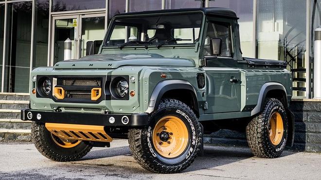 Land Rover ra mat ban tai canh tranh voi Mercedes X-Class hinh anh
