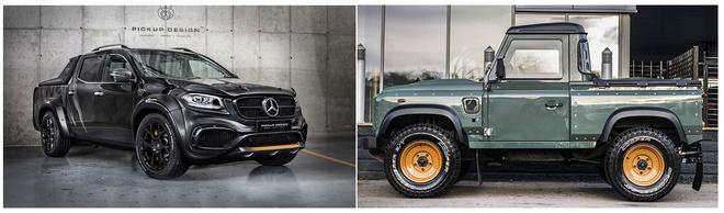 Land Rover ra mat ban tai canh tranh voi Mercedes X-Class hinh anh 2