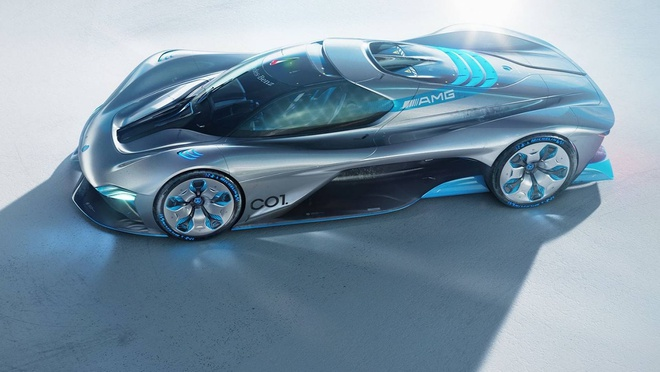 Mercedes C01: 'Quai vat' sieu xe thay the Project One hinh anh
