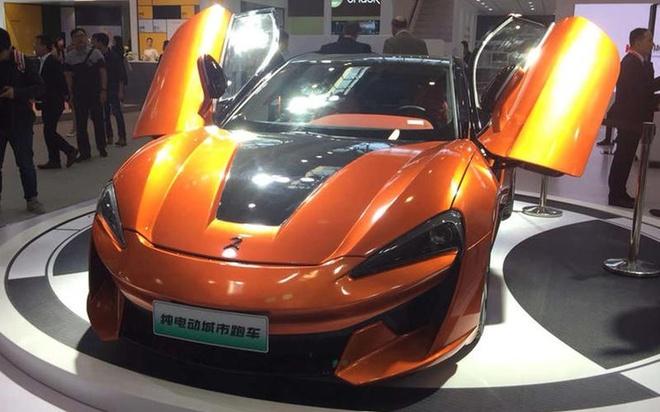 Xe nhai 'made in China' tran ngap Trien lam oto Bac Kinh 2018 hinh anh 1