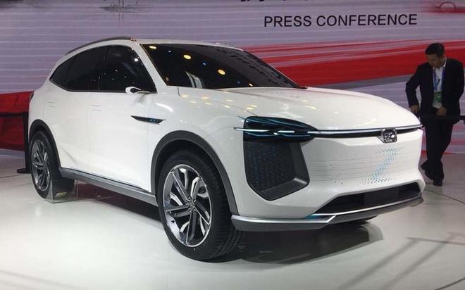 Xe nhai 'made in China' tran ngap Trien lam oto Bac Kinh 2018 hinh anh 3