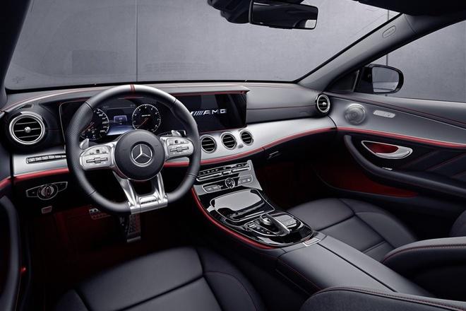Mercedes-AMG E53 ra mat voi cong nghe lai ban tu dong hinh anh 4