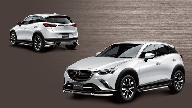 Mazda CX-3 co phien ban dac biet dung dong co Diesel hinh anh 6