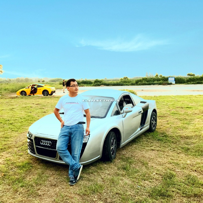 Xe nhai Bugatti Chiron, Lamborghini tran lan tai Trung Quoc hinh anh 7