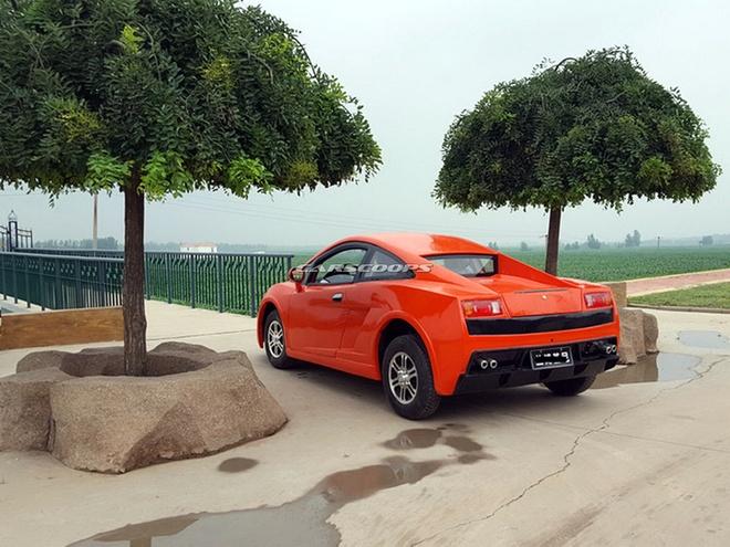 Xe nhai Bugatti Chiron, Lamborghini tran lan tai Trung Quoc hinh anh 4