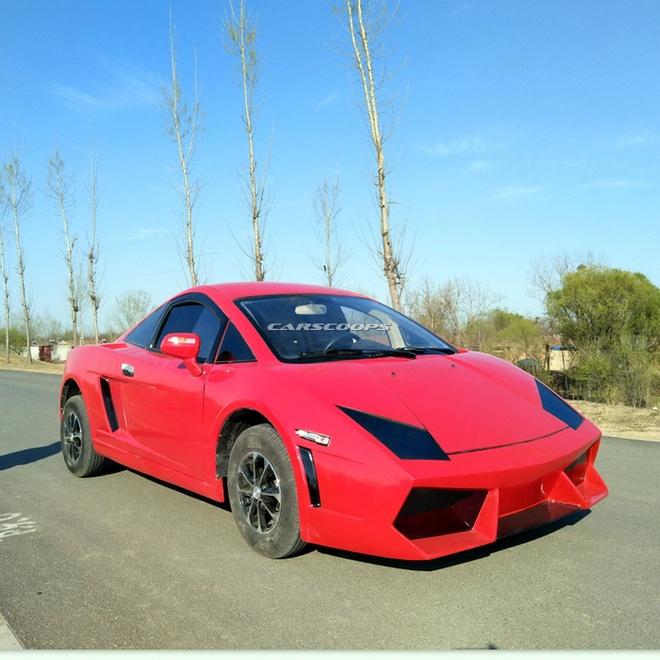 Xe nhai Bugatti Chiron, Lamborghini tran lan tai Trung Quoc hinh anh 9
