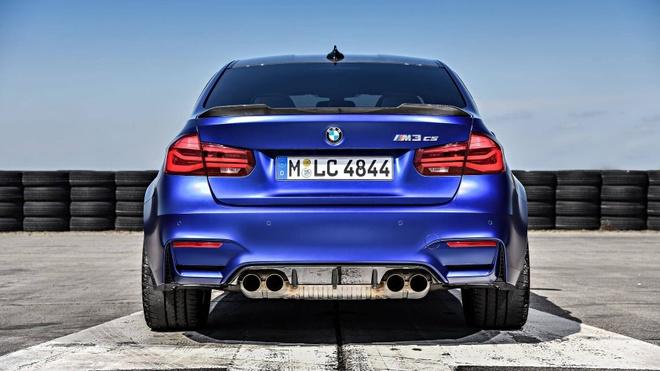 'Sieu sedan' BMW M3 CS lo dien, chi san xuat 1.200 chiec hinh anh 3