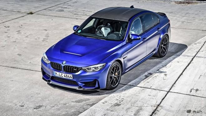 'Sieu sedan' BMW M3 CS lo dien, chi san xuat 1.200 chiec hinh anh 1