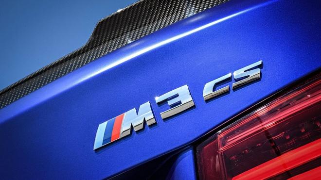 'Sieu sedan' BMW M3 CS lo dien, chi san xuat 1.200 chiec hinh anh 2
