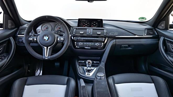 'Sieu sedan' BMW M3 CS lo dien, chi san xuat 1.200 chiec hinh anh 7