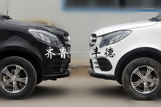 Xe dien Trung Quoc nhai Range Rover Evoque va Mercedes GLE hinh anh 11
