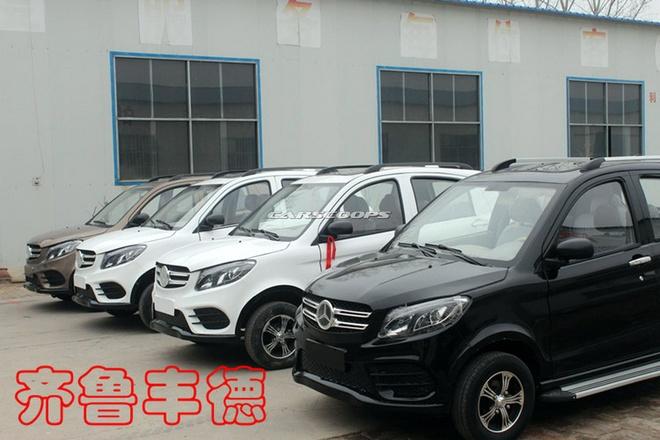 Xe dien Trung Quoc nhai Range Rover Evoque va Mercedes GLE hinh anh 1
