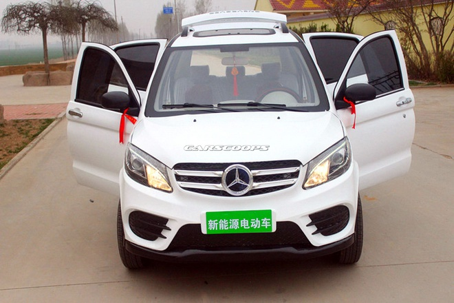 Xe dien Trung Quoc nhai Range Rover Evoque va Mercedes GLE hinh anh 8