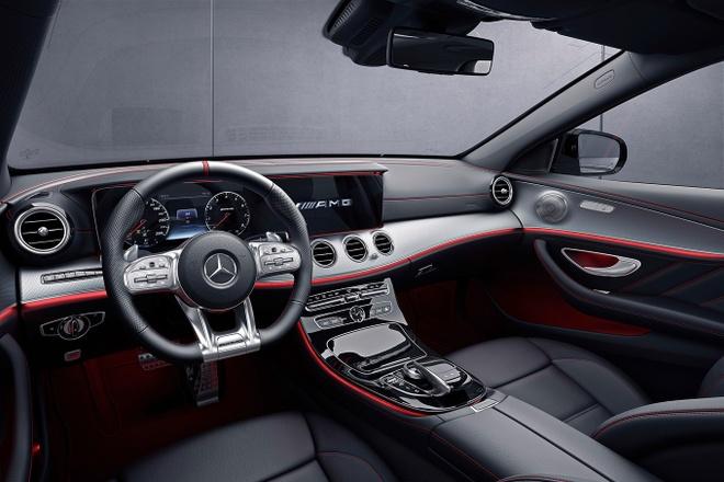 Mercedes E-Class 2019 moi nang cap dong co,  them cong nghe anh 5