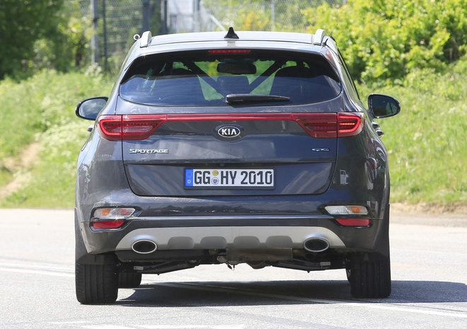 Kia cong bo Sportage Facelift 2019 voi nhieu thay doi hinh anh 5