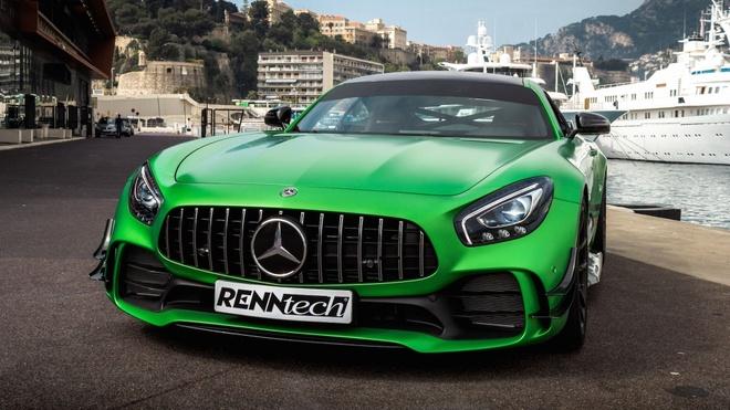 Mercedes-AMG GT R ban do ra mat, cong suat cuc manh hinh anh