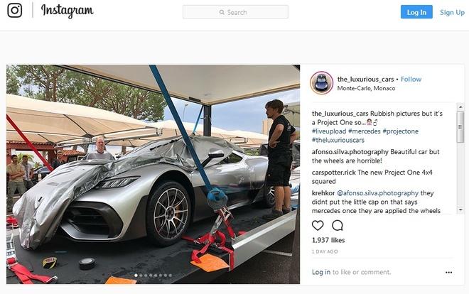 Mercedes-AMG Project One 2,7 trieu USD bi mat lo dien tai Monaco hinh anh 2