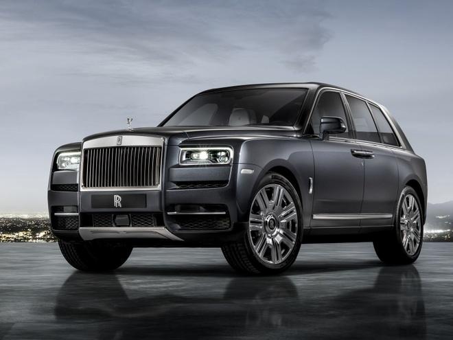 10 dieu co the ban chua biet ve 'sieu SUV' Rolls-Royce Cullinan hinh anh 1