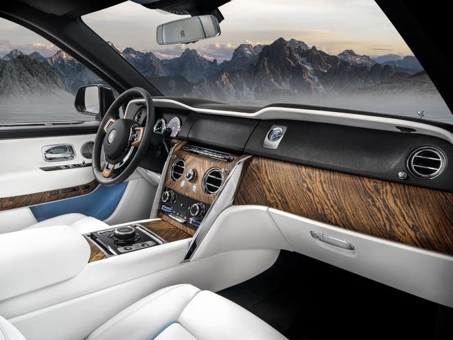 10 dieu co the ban chua biet ve 'sieu SUV' Rolls-Royce Cullinan hinh anh 8