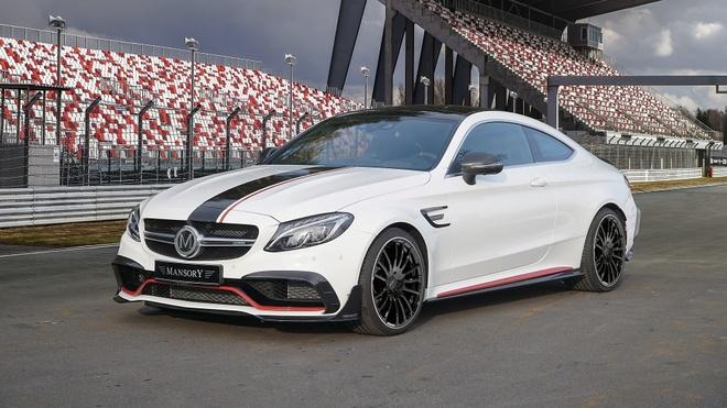 Mercedes-AMG C63 'hoa than' thanh xe dua hinh anh