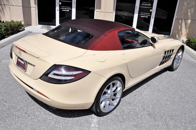 Mercedes SLR Roadster trang nga 'doc nhat vo nhi' hinh anh 2