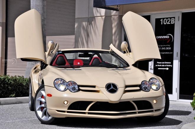Mercedes SLR Roadster trang nga 'doc nhat vo nhi' hinh anh 3