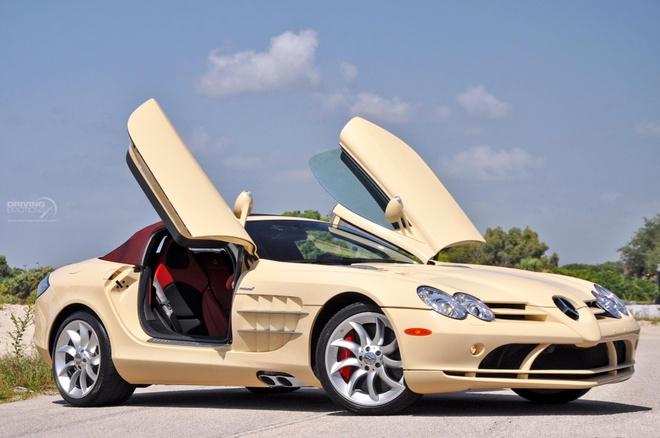 Mercedes SLR Roadster trang nga 'doc nhat vo nhi' hinh anh 7