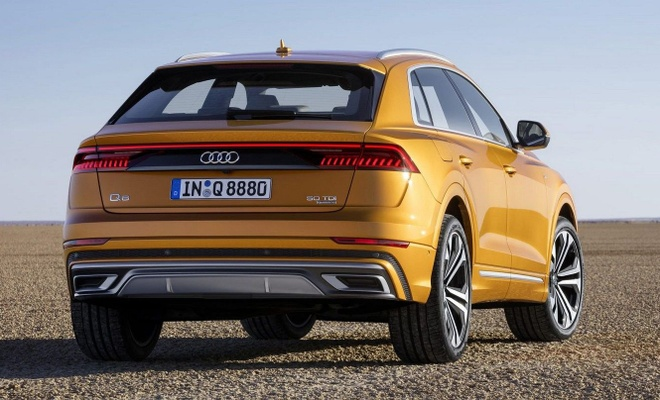 Audi Q8 2019 lo dien truoc gio ra mat hinh anh