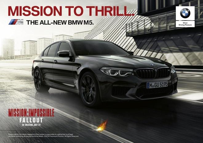 Tom Cruise sat canh cung BMW M5 trong Nhiem vu bat kha thi moi hinh anh 2