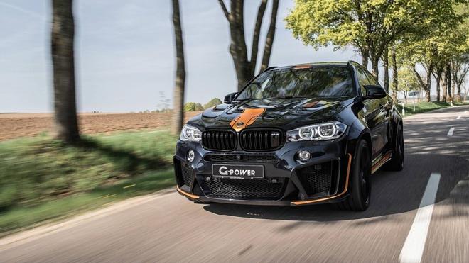 BMW X6 M lot xac nho goi do moi cua G-Power hinh anh