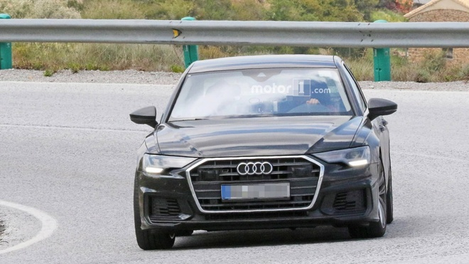 Audi S6 2019 lo hinh anh tren duong thu hinh anh