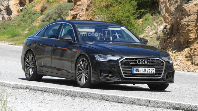 Audi S6 2019 lo hinh anh tren duong thu hinh anh 2