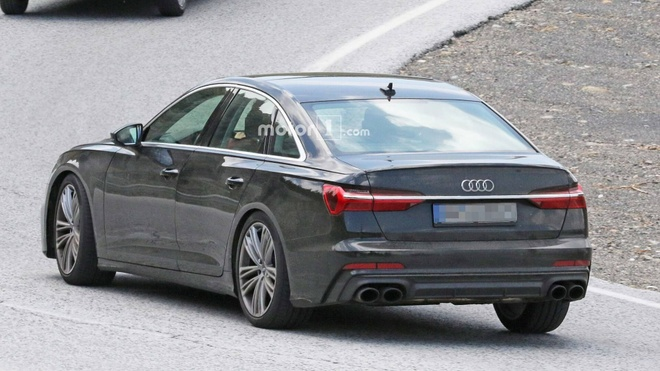 Audi S6 2019 lo hinh anh tren duong thu hinh anh 5