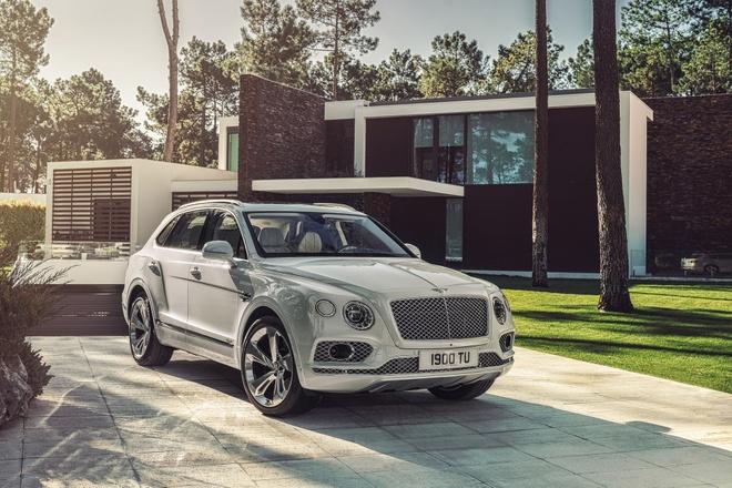Bentley Bentayga Hybrid 2019 ra mat tai Geneva Motor Show 2018 hinh anh