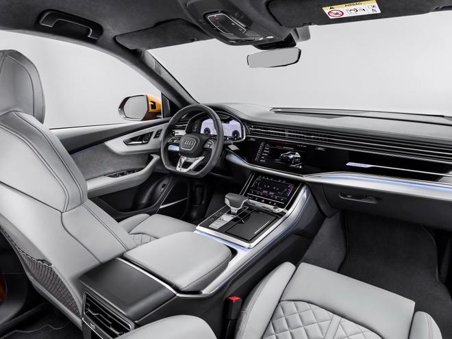 Audi Q8 tuyet dep trong mau xanh ngoc bich anh 8