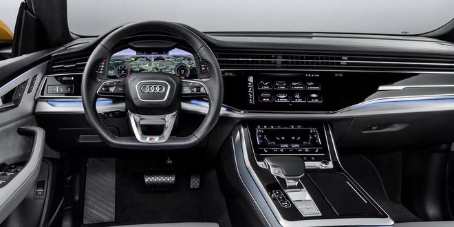 Audi Q8 tuyet dep trong mau xanh ngoc bich anh 7