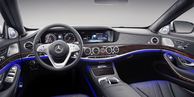 Nhung he lo moi nhat ve sieu pham Mercedes S-Class 2021 hinh anh 6