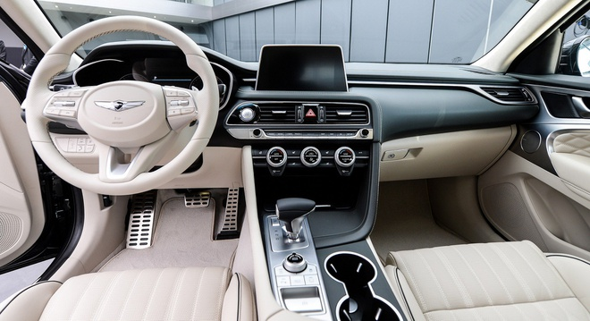 Genesis G70 2019 - sedan hang sang gia tu 32.000 cua Hyundai hinh anh 11