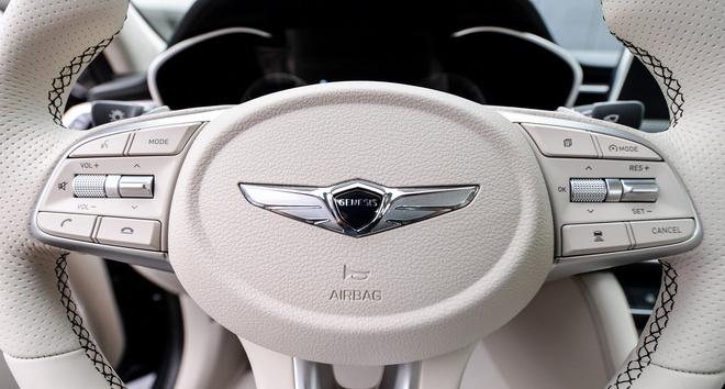 Genesis G70 2019 - sedan hang sang gia tu 32.000 cua Hyundai hinh anh 10