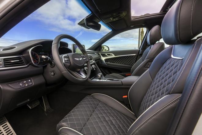 Genesis G70 2019 - sedan hang sang gia tu 32.000 cua Hyundai hinh anh 5