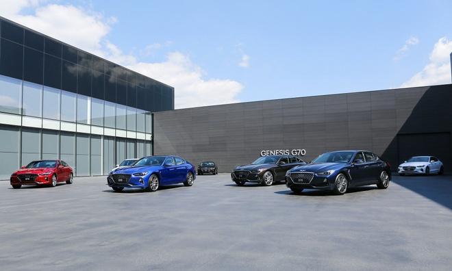 Genesis G70 2019 - sedan hang sang gia tu 32.000 cua Hyundai hinh anh 14