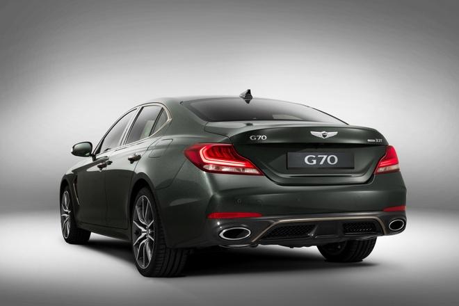 Genesis G70 2019 - sedan hang sang gia tu 32.000 cua Hyundai hinh anh 3