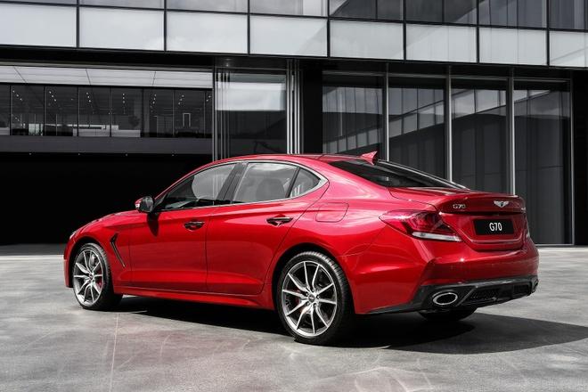 Genesis G70 2019 - sedan hang sang gia tu 32.000 cua Hyundai hinh anh 6