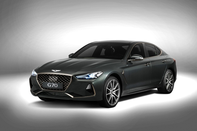 Genesis G70 2019 - sedan hang sang gia tu 32.000 cua Hyundai hinh anh