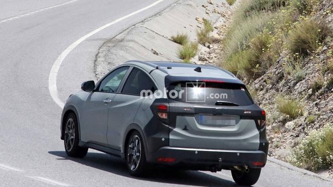 Lo dien Honda HR-V 2019, ban ra cuoi nam hinh anh