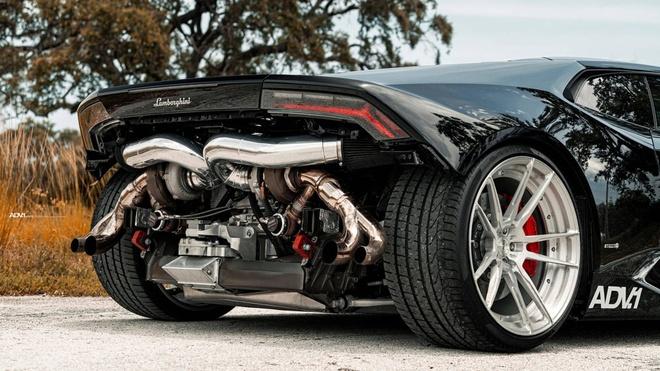 Sieu xe Lamborghini Huracan gay an tuong voi thiet ke quai di hinh anh