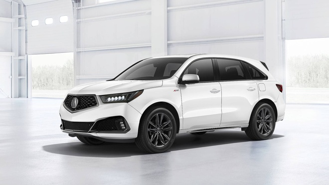 Acura MDX 2019 ra mat - noi that dep hon, co ban the thao hinh anh 4