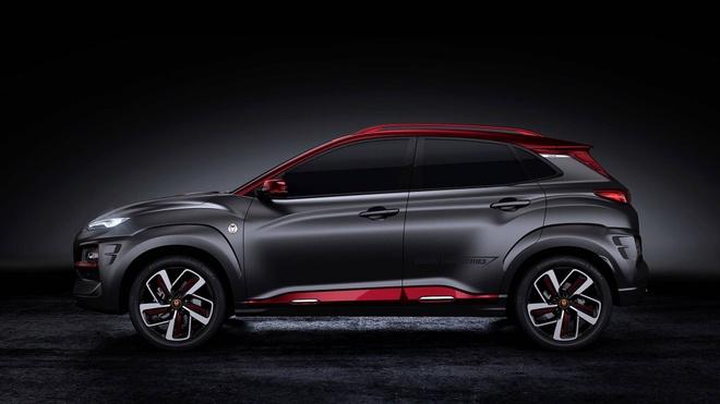 Hyundai Kona ban Iron Man chinh thuc ra mat hinh anh 1
