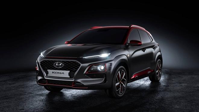 Hyundai Kona ban Iron Man chinh thuc ra mat hinh anh 7