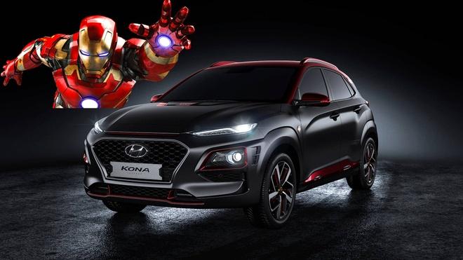 Hyundai Kona ban Iron Man chinh thuc ra mat hinh anh 2